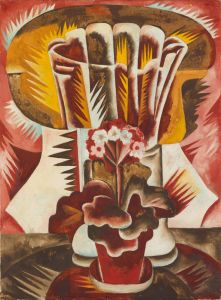 N.Goncharova, Flower Pot